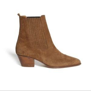 Sandro Amelya Boot 37 Camel - Brand New